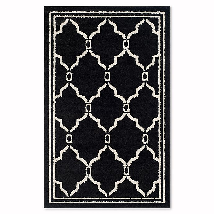 Alternate image 1 for Safavieh Amherst 2-Foot  6-Inch x 4-Foot Quake Area Rug in Anthracite