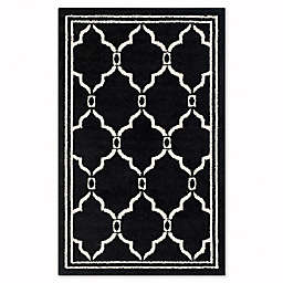 Safavieh Amherst 2-Foot  6-Inch x 4-Foot Quake Area Rug in Anthracite