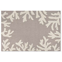 Liora Manne Capri 20-Inch x 30-Inch Indoor/Outdoor Mat in Silver