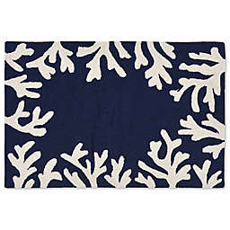 Liora Manne Capri 20-Inch x 30-Inch Indoor/Outdoor Mat in Navy