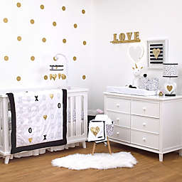 NoJo® XOXO 4-Piece Crib Bedding Set
