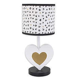 NoJo® XOXO Lamp with Shade in Black/White