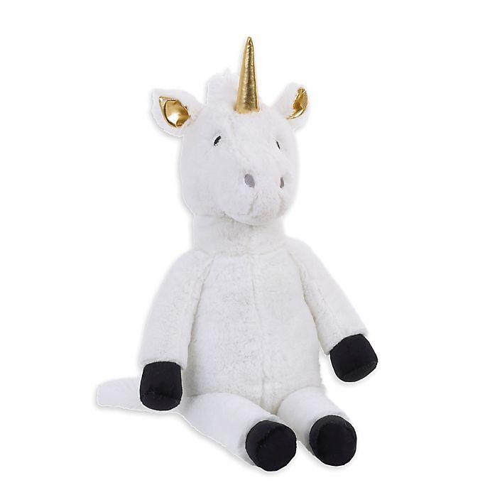 Alternate image 1 for NoJo® XOXO Plush Unicorn in White