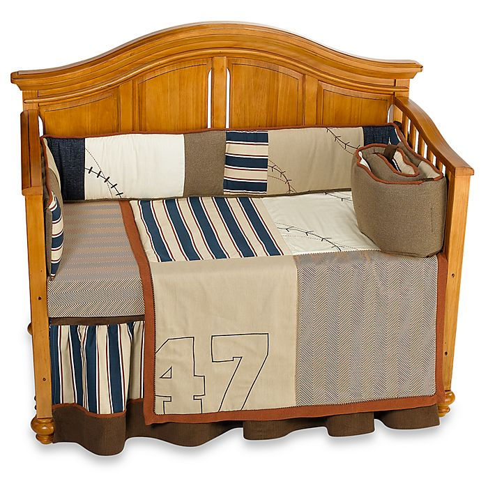 Box Doccia Shabby Chic.Cocalo Couture Cooperstown 4 Piece Crib Bedding Set Bed