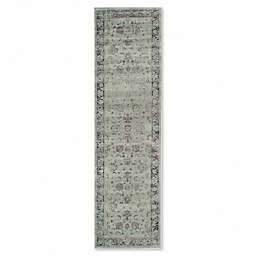 Safavieh Vintage Olivia 2-Foot 2-Inch x 6-Foot Accent Rug in Spruce/Ivory