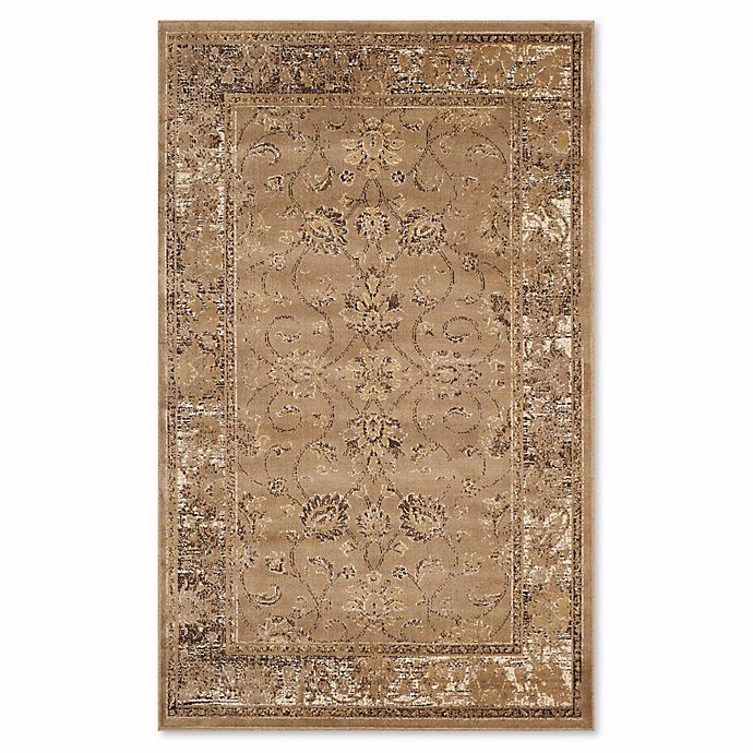 Alternate image 1 for Safavieh Vintage Olivia 2-Foot 7-Inch x 4-Foot Accent Rug in Taupe