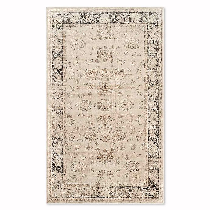 Olivia 3'3 x 5'7 Accent Rug in Stone