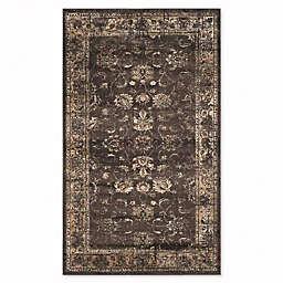 Safavieh Vintage Olivia 3-Foot 3-Inch x 5-Foot 7-Inch Accent Rug in Light Grey