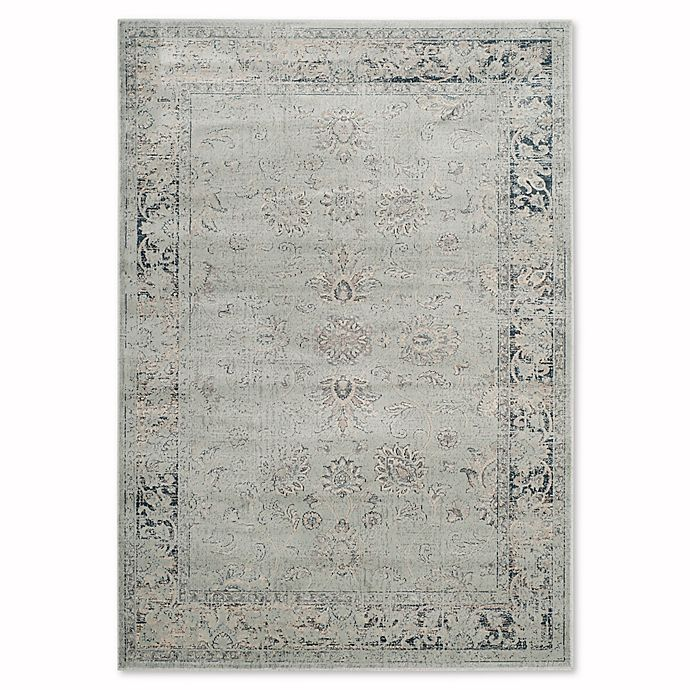 Alternate image 1 for Safavieh Vintage Olivia 4-Foot x 5-Foot 7-Inch Accent Rug in Light Blue
