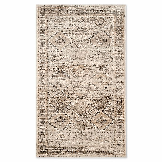 Alternate image 1 for Safavieh 2-Foot 7-Inch x 4-Foot Bethany Vintage Accent Rug in Stone