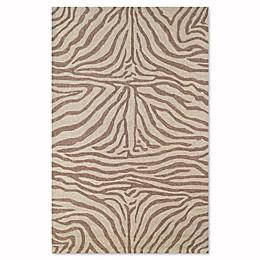 Liora Manne Zebra Indoor/Outdoor Rug in Brown
