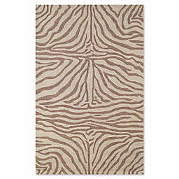 Liora Manne Zebra Indoor/Outdoor Rug in Brown