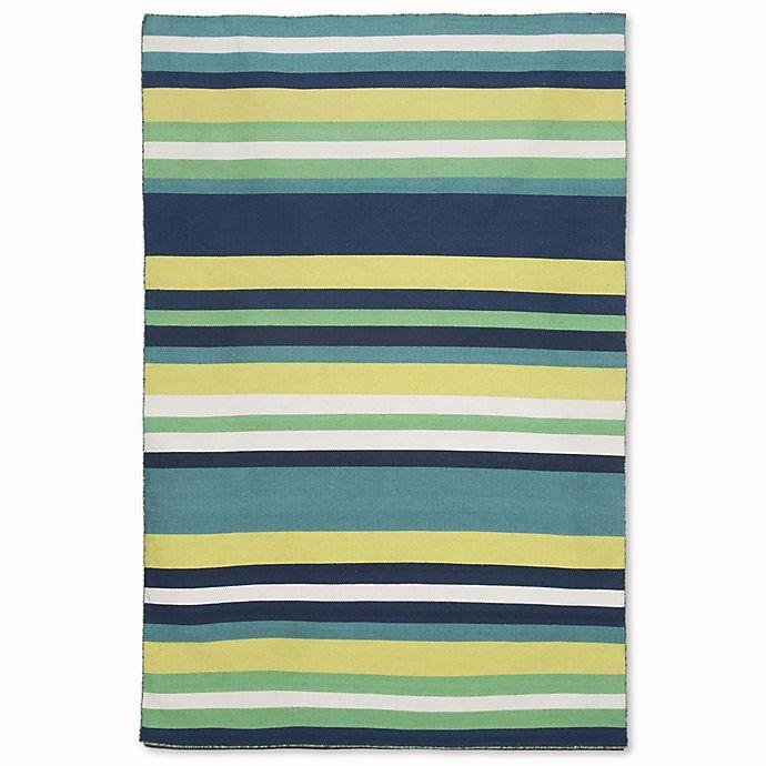 Alternate image 1 for Liora Manne Sorrento 7-Foot 6-Inch x 9-Foot 6-Inch Indoor/Outdoor Area Rug in Tribeca Green
