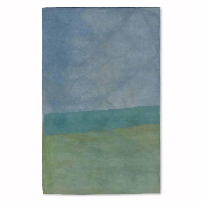 Alternate image 1 for Liora Manne Piazza Zen 3-Foot 6-Inch x 5-Foot 6-Inch Area Rug in Sea Breeze