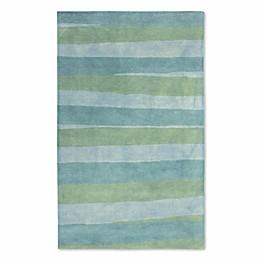 Liora Manne Piazza Stripes Rug in Sea Breeze