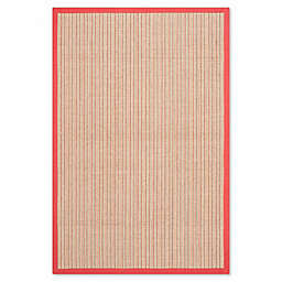 Safavieh Natural Fiber Courtney 2-Foot 6-Inch x 4-Foot Accent Rug in Rust