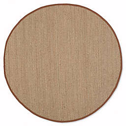 Safavieh Natural Fiber Mackenzie 6-Foot x 6-Foot Area Rug in Natural/Brown