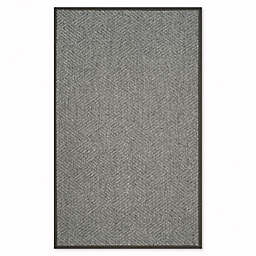 Safavieh Natural Fiber Jacqueline 8-Inch x 10-Inch Area Rug in Dark Grey