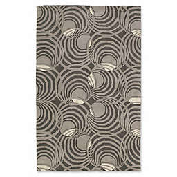 Kaleen Astronomy Lunar 9-Foot 6-Inch x 13-Foot Area Rug in Graphite