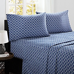 Madison Park Fretwork Cotton Sheet Set