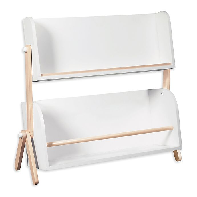 Alternate image 1 for Babyletto Tally Bookshelf in White/Washed Natural