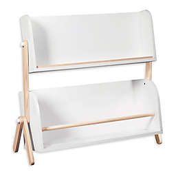 Babyletto Tally Bookshelf in White/Washed Natural