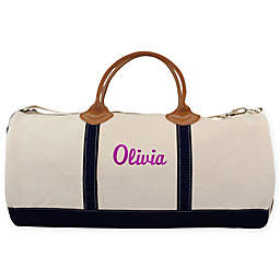 CB Station Round Travel Duffle Bag in Navy