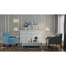 Blue Velvet Living Room