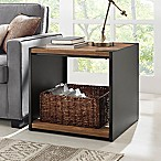 Forest Gate 24  Industrial Modern Wood Side End Table
