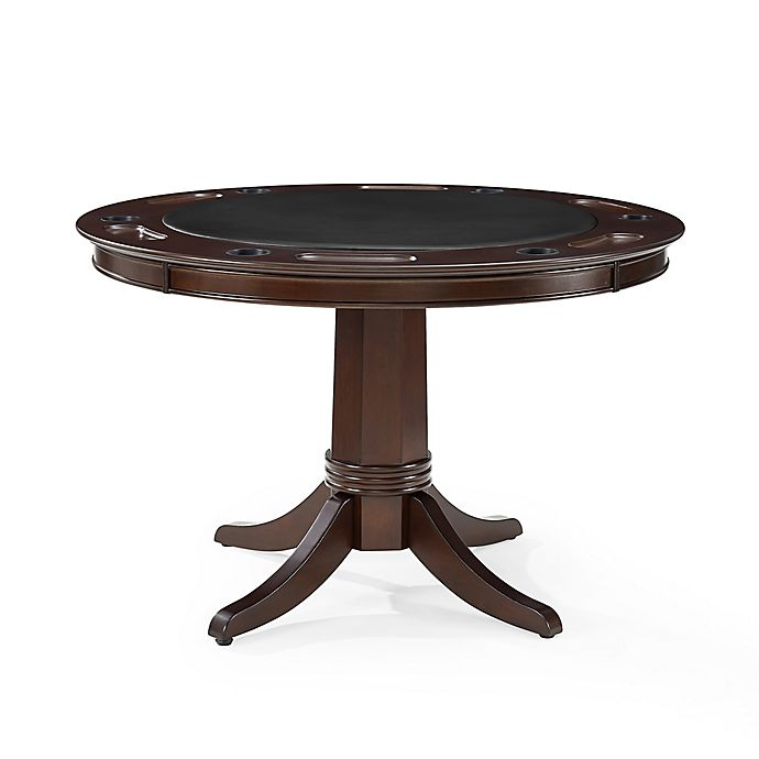 Enjoyable Crosley Reynolds Game Table In Mahogany Bed Bath Beyond Home Interior And Landscaping Elinuenasavecom