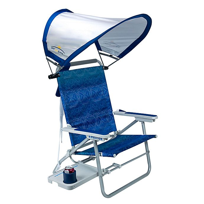 Alternate image 1 for Big Surf Beach Chair with Sunshade™ and Slide Table