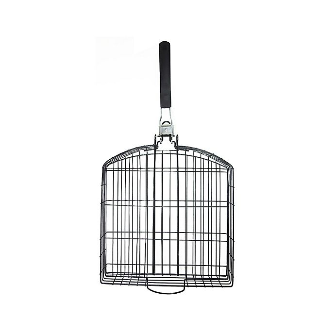 Alternate image 1 for Nonstick Oversized Grill Basket with Folding Handle
