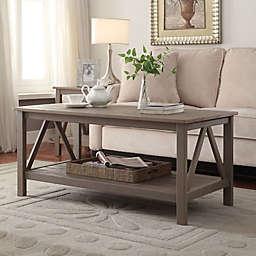 Titian Pine Coffee Table in Rustic Grey