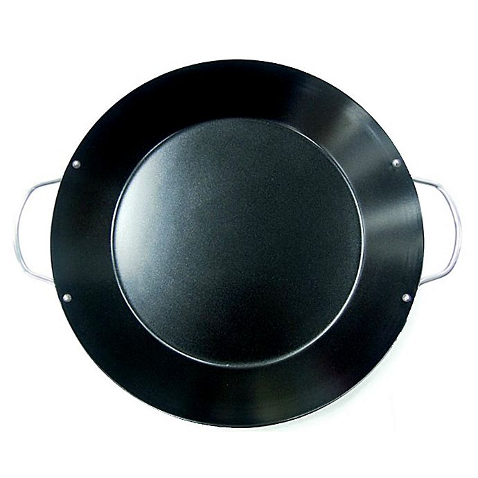Alternate image 1 for Just Grillin' Nonstick Coated Paella Pan