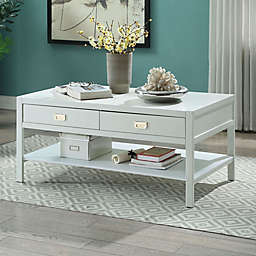 Peggy Table Collection in White