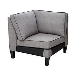 Madison Park Signature Gordon Modular Sofa Corner in Grey