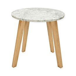 INK+IVY® Milo End Table in White