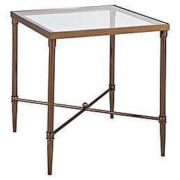 Madison Park Signature Porter End Table in Bronze