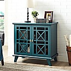 Forest Gate 32  Modern Entry Storage Accent Console in Blue