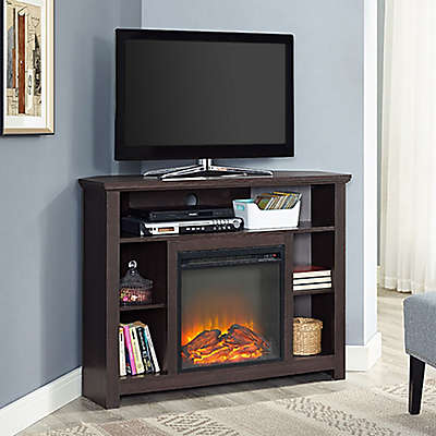 Corner Tv Stand With Fireplace Bed Bath Beyond