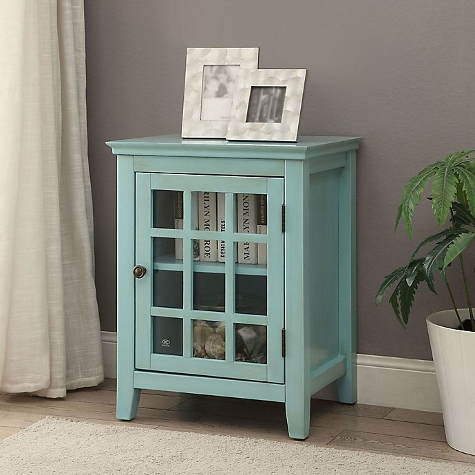 Linon Home Decor Largo Accent Cabinet