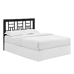 Forest Gate Modern Queen-Size Square Metal Headboard