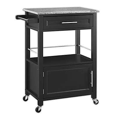 Mitchell Kitchen Cart in Black