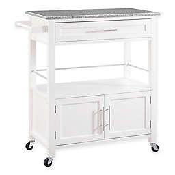 Cameron Kitchen Cart in White
