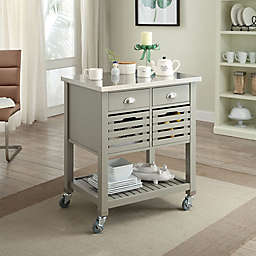 Robbin Kitchen Cart in Grey