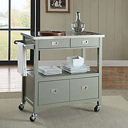 Sydney Kitchen Cart in Grey