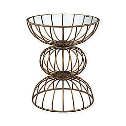 Madison Park Wire Ball Accent Table in Bronze