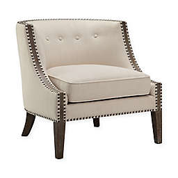 Madison Park Verono Accent Chair in Cream