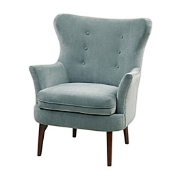 Madison Park Brady Accent Chair in Blue