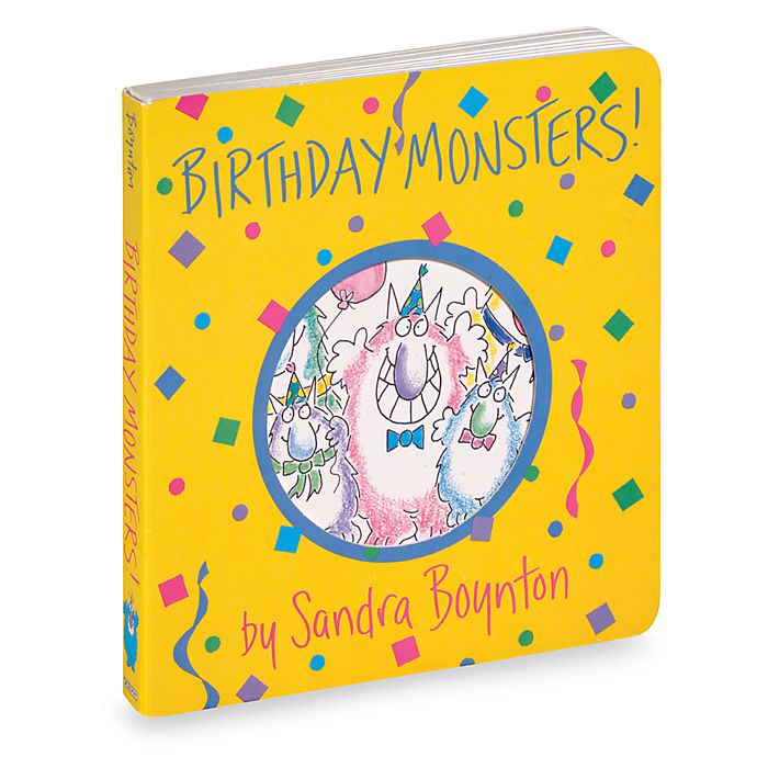 Alternate image 1 for Birthday Monsters! Boynton on Board Book